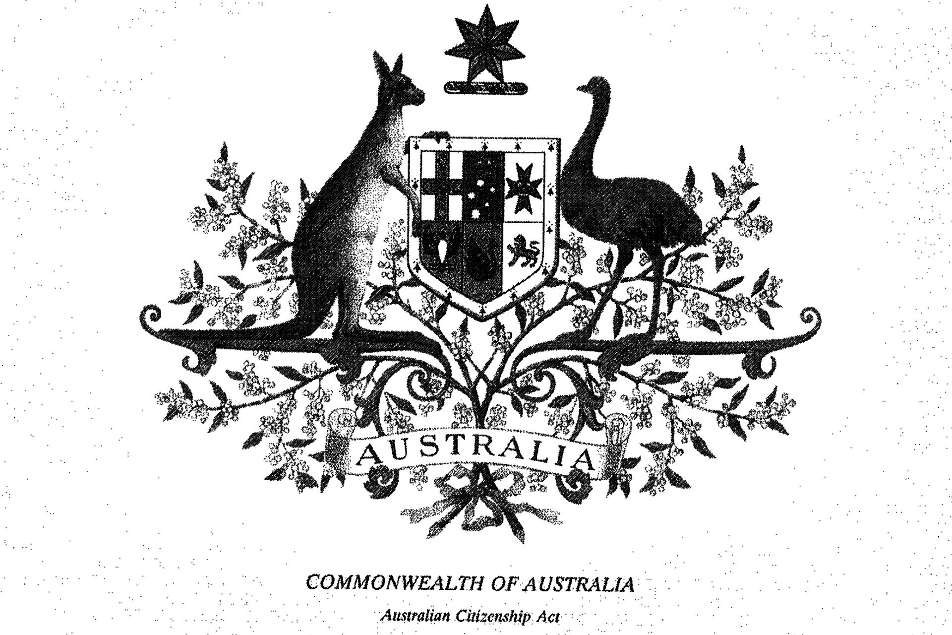 Joel becomes an Australian Citizen